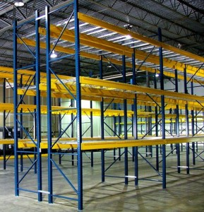 Dearborn Heights, MI Used Pallet Rack Uprights